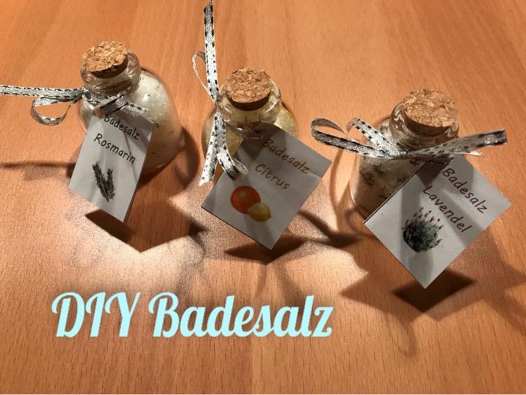 DIY Badesalz