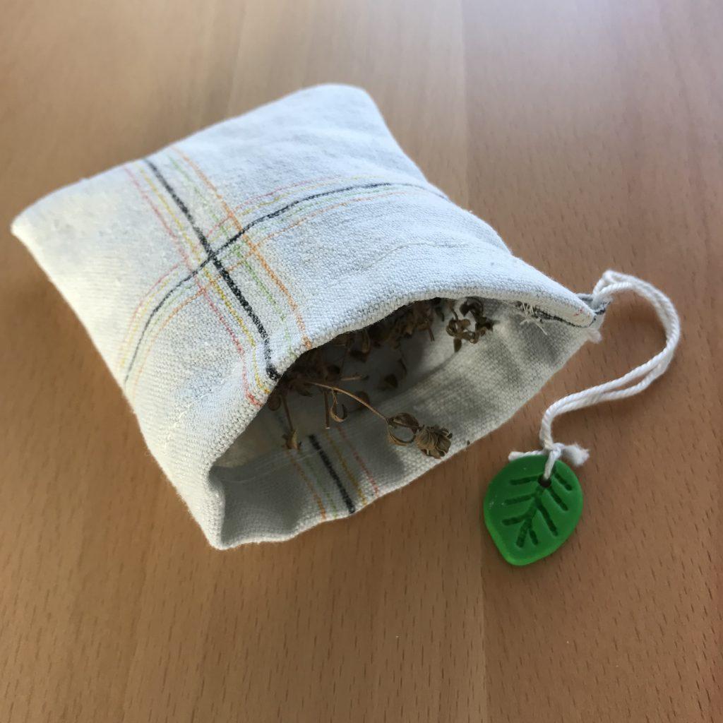 DIY Stoff Teebeutel