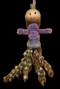 Lavendel-Männchen